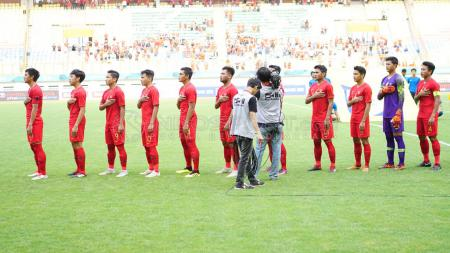 Uji coba Timnas Indonesia U-19 vs Arab Saudi. - INDOSPORT