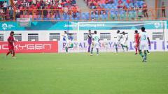 Indosport - Jalannya pertandingan Timnas Indonesia U-19 vs Arab Saudi.
