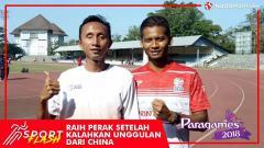 Indosport - Abdul Halim Dalimunthe mengalahkan pelari asal China yang merupakan unggulan pertama di Asian Para Games 2018.
