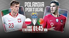 Indosport - Polandia vs Portugal (Prediksi)