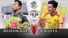Indosport - Bhayangkara vs Sriwijaya FC (Prediksi)