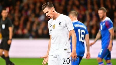 Gelandang Marseille dan Timnas Prancis, Florian Thauvin, menjadi incaran klub LaLiga Spanyol, Valencia. - INDOSPORT
