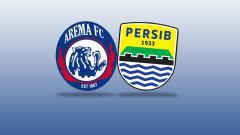 Indosport - Logo Arema FC vs Persib Bandung.