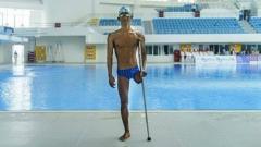 Indosport - Jendi Pangabean, atlet renang Indonesia di Paralimpiade Tokyo 2020
