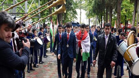 Timnas Tajikistan U-16. - INDOSPORT