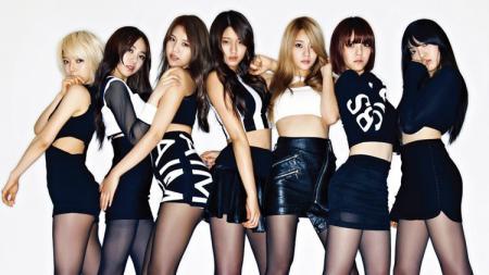 Grup Girlband. - INDOSPORT
