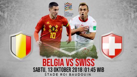 Belgia vs Swiss. - INDOSPORT