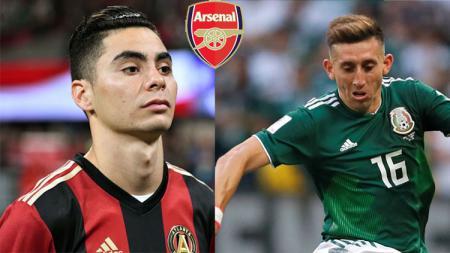 Dua pemain yang menjadi incaran Arsenal untuk menggantikan Aaron Ramsey - INDOSPORT