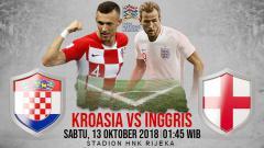 Indosport - Kroasia vs Inggris.