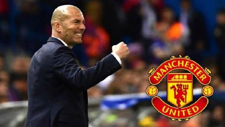Zidane bisa buat Manchester United dapatkan bintang Real Madrid Copyright: caught offside