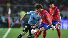 Indosport - Korea Selatan Tumbangkan Uruguay di Laga Persahabatan.