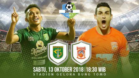 Persebaya Surabaya vs Borneo. - INDOSPORT