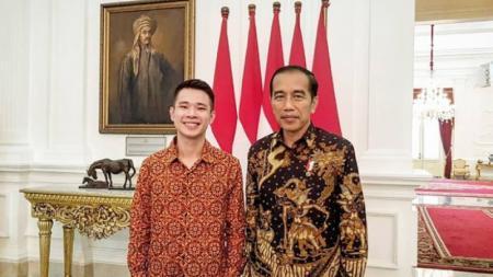Jokowi dan Jess No Limit - INDOSPORT