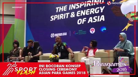 Closing ceremony Asian Para Games 2018. - INDOSPORT