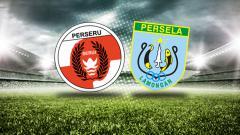 Indosport - Perseru Serui vs Persela Lamongan.