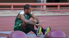 Indosport - David da Silva saat latihan terpisah.