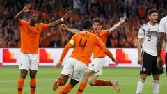 Indosport - Belanda vs Jerman dalam laga UEFA Nations League.