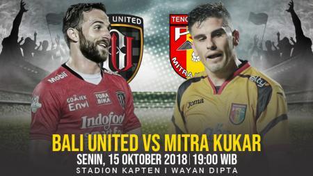 Bali United vs Mitra Kukar. - INDOSPORT