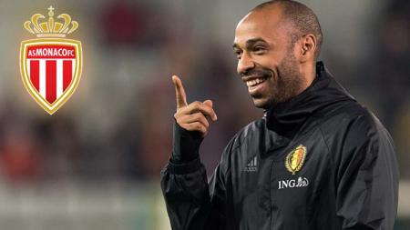 Thierry Henry resmi ditunjuk jadi pelatih AS Monaco. - INDOSPORT