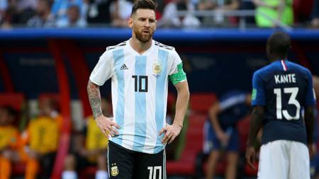 Lionel Messi, pemain megabintang Timnas Argentina. - INDOSPORT
