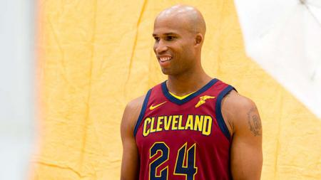 Richard Jefferson saat masih bermain bagi Cleveland Cavaliers. - INDOSPORT