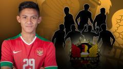 Indosport - Sebelum Firza Andika, 7 pemain Indonesia ini pernah main di Belgia.