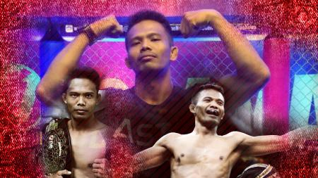 Petarung Mixed Martial Arts, Suwardi. - INDOSPORT