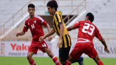 Indosport - Timnas Malaysia U-16 versus Uni Emirat Arab.