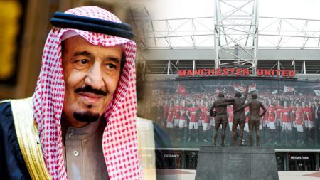 Raja Salman berniat membeli Manchester United. - INDOSPORT