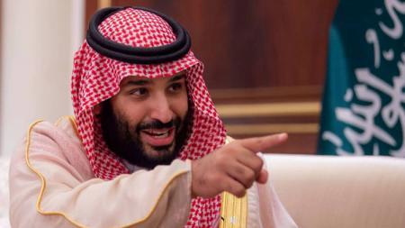 Mohammad Bin Salman Al Saud yang dikabarkan ingin membeli Manchester United. - INDOSPORT