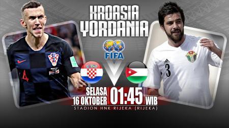 Kroasia vs Yordania (Prediksi). - INDOSPORT