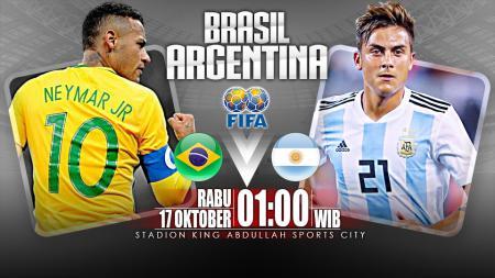 Brasil vs Argentina (Prediksi) - INDOSPORT