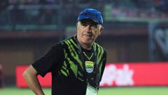 Indosport - Roberto Carlos Mario Gomez, pelatih Persib Bandung.