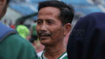Pelatih Persebaya Surabaya, Djadjang Nurdjaman. - INDOSPORT