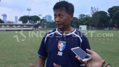 Indosport - Pelatih Timnas Taiwan, Wang Jiazhong.