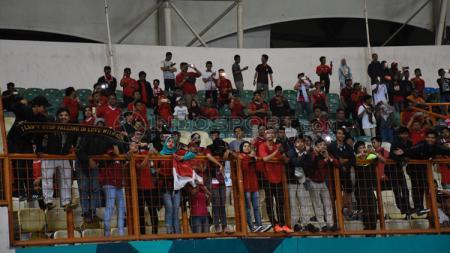 Suporter Timnas Indonesia. - INDOSPORT