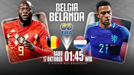 Belgia vs Belanda (Prediksi) - INDOSPORT