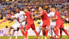 Indosport - Timnas Malaysia vs Kirgistan.