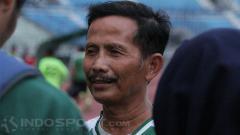 Indosport - Djajang Nurdjaman saat ditemui awak media.