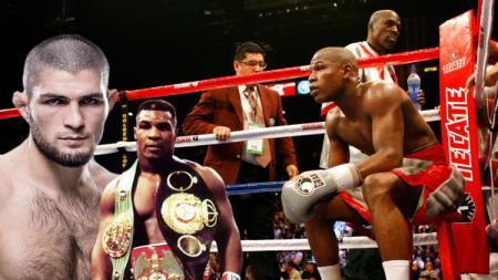 Khabib dikabarkan meminta bantuan Mike Tyson untuk mengalahkan Floyd Mayweather - INDOSPORT