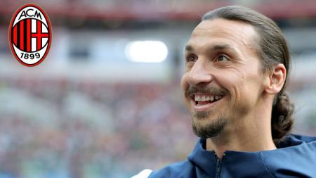 Zlatan Ibrahimovic, striker LA Galaxy pertimbangkan kembali ke AC Milan. - INDOSPORT