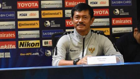 Indra Sjafri pelatih Timnas Indonesia. - INDOSPORT