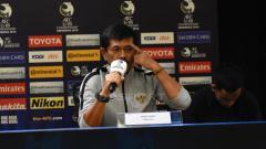 Indosport - Indra Sjafri pelatih Timnas Indonesia.