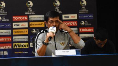 Indra Sjafri, pelatih Timnas Indonesia U-19. - INDOSPORT