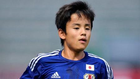 Pemain Jepang Takefusa Kubo - INDOSPORT