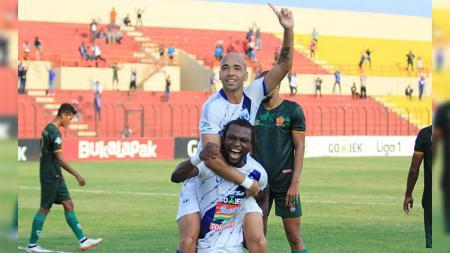 Gol pertama Bruno Silva - INDOSPORT