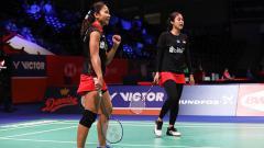 Indosport - Rizki Amelia Pradipta/Ni Ketut Mahadewi Istarani.
