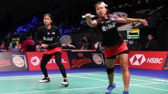 Indosport - Rizki Amelia Pradipta/Ni Ketut Mahadewi Istarani di ajang Denmark Open 2018.