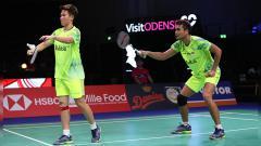 Indosport - Tontowi Ahmad/Liliyana Natsir saat tampil pada Danisa Denmark Open 2018.