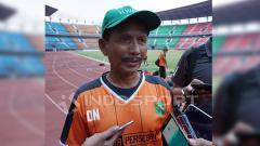 Indosport - Pelatih Persebaya Surabaya, Djajang Nurdjaman.